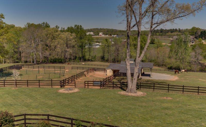 Barn & Pastures